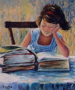 Antonio Cerri, Ragazza che legge, 1967